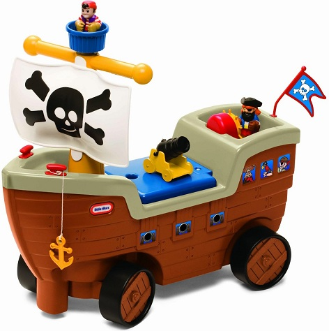 acheter porteur bateau pirate porteur little tikes. Black Bedroom Furniture Sets. Home Design Ideas