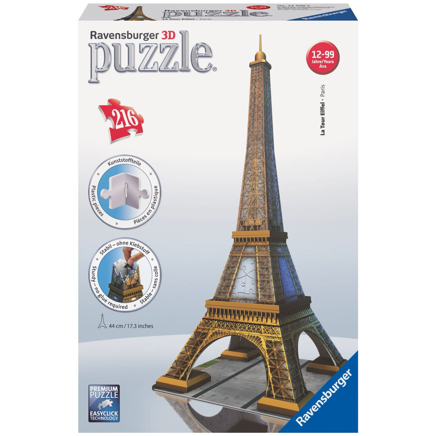 tour eiffel puzzle 3d tour eiffel puzzle 3 d sur enperdresonlapin. Black Bedroom Furniture Sets. Home Design Ideas