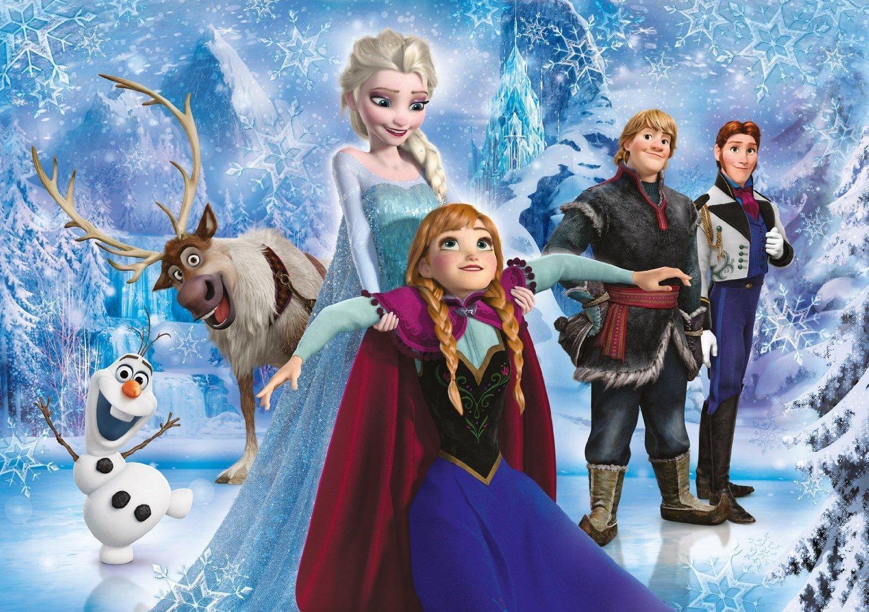 clementoni 20127 puzzle 104 pi ces la reine des neiges brillant. Black Bedroom Furniture Sets. Home Design Ideas