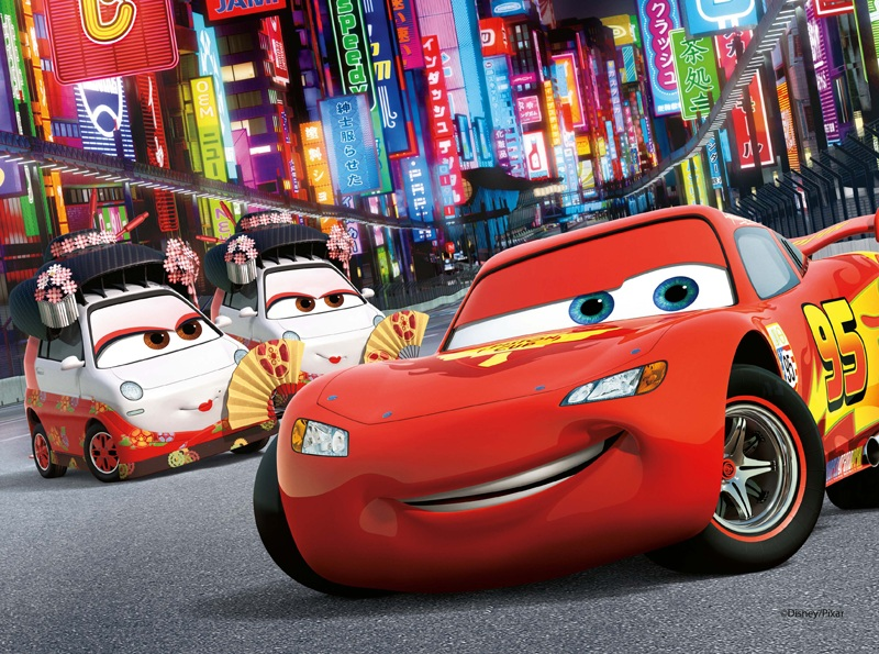 Puzzle disney - Jeu gratuit cars flash mcqueen ...