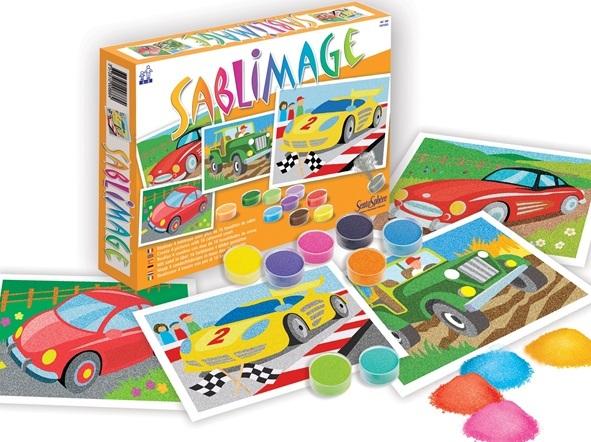 tableau sablimage v hicules kit cr atif sablimage 4 ans jouet loisirs cr atifs sable. Black Bedroom Furniture Sets. Home Design Ideas