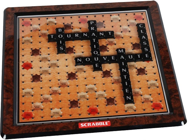 scrabble deluxe jeu de soci t mattel jeu de soci t de. Black Bedroom Furniture Sets. Home Design Ideas