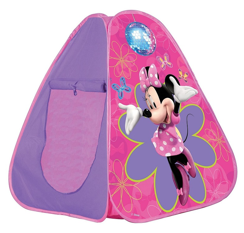 acheter tente pop up minnie au meilleur prix jouet disney. Black Bedroom Furniture Sets. Home Design Ideas