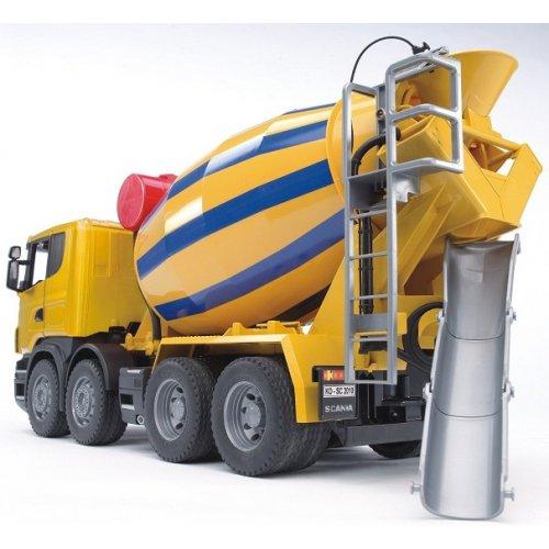 Camion b tonni re jouet bruder camion toupie de chantier - Camion toupie playmobil ...