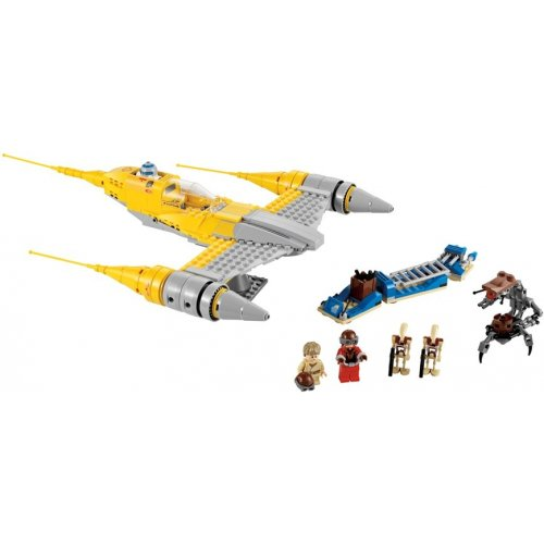 LEGO STAR WARS EXCLUSIVITE 7877 NABOO STARFIGHTER