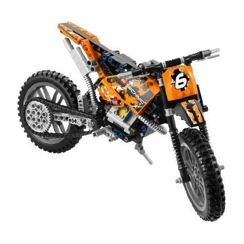 lego technic lego 42007 acheter moto cross lego neuf. Black Bedroom Furniture Sets. Home Design Ideas
