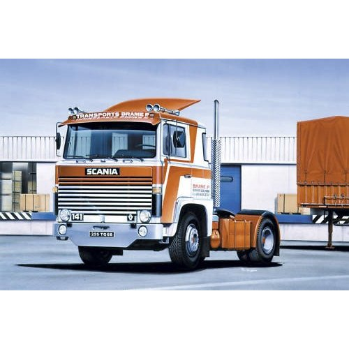 maquette heller poids lourds maquette camion scania heller achat maquette camion 1 24. Black Bedroom Furniture Sets. Home Design Ideas