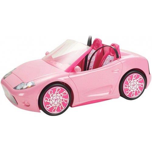 voiture d capotable barbie barbie et son cabriolet mattel achat barbie glam cabrio. Black Bedroom Furniture Sets. Home Design Ideas