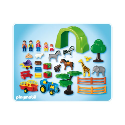 playmobil r f rence 6754 playmobil 1 2 3. Black Bedroom Furniture Sets. Home Design Ideas