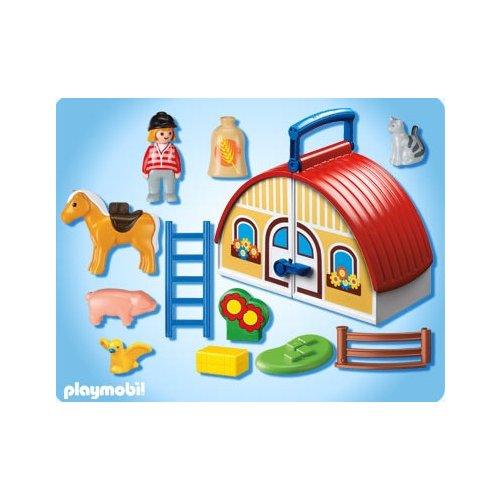 Ferme playmobil 123 for Playmobil maison moderne prix