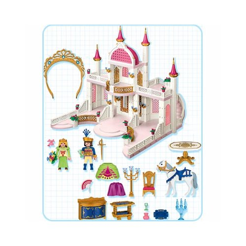 Playmobil r f rence 4250 ch teau princesse for Chateau playmobil 4250