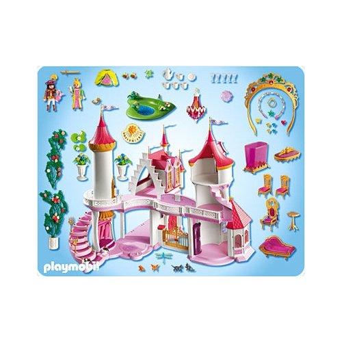 Notice ch teau fort playmobil 3269 for Notice de montage chateau princesse playmobil
