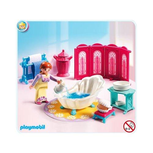 Playmobil 5147 salle de bain royale ch teau de princesse neuf for Salle bain playmobil