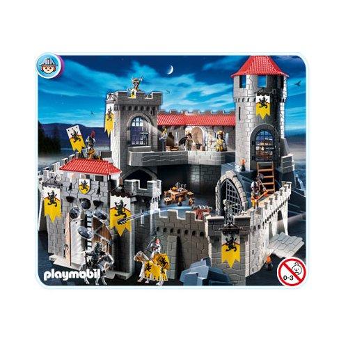 Playmobil ch teau fort des chevaliers du lion pictures to for Playmobil 4865 prix