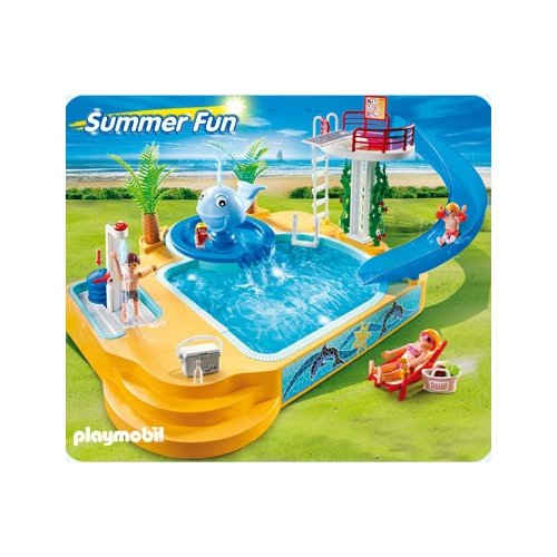 Piscine playmobile for Piscine playmobile 4858