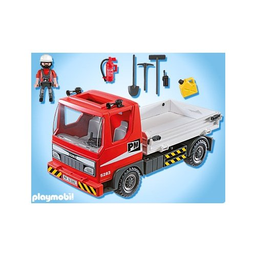 camion playmobil. Black Bedroom Furniture Sets. Home Design Ideas