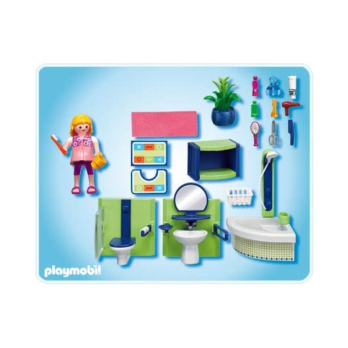 salle de bain playmobil. Black Bedroom Furniture Sets. Home Design Ideas