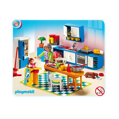 Playmobil r f rence 5329 playmobil vie en ville for Playmobil cuisine 5329
