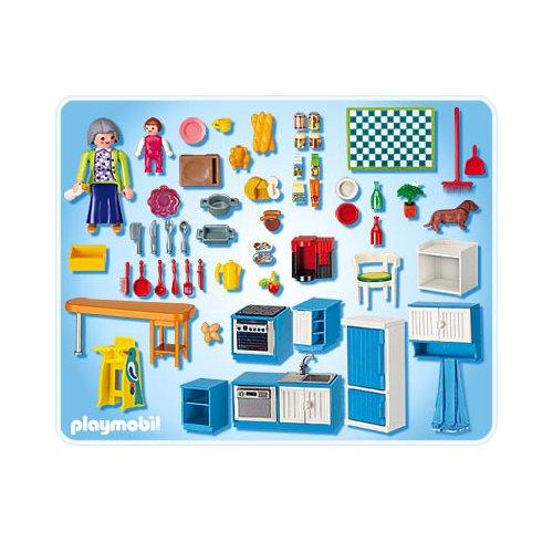 Playmobil r f rence 5329 playmobil vie en ville for Playmobil cuisine 5329