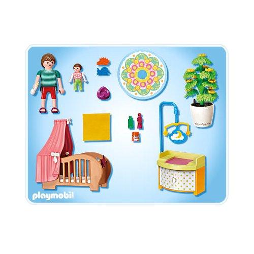 Playmobil Vie En Ville 5334 Chambre De Bebe Avec Mobile