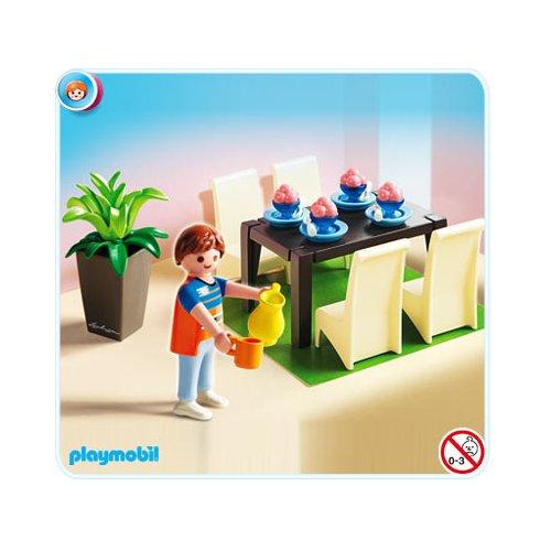 Playmobil r f rence 5335 playmobil vie en ville for Salle a manger playmobil