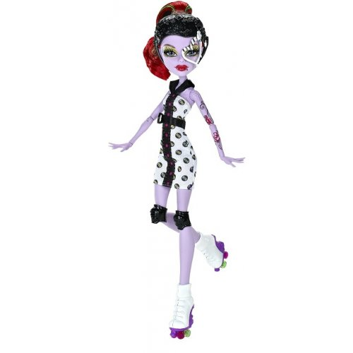 Poup e monster high clawdeen sport en fete pictures to pin - Monster high king jouet ...