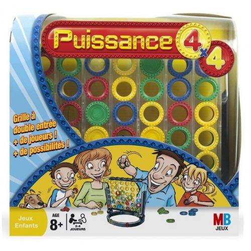 PUISSANCE 4x4 - MB JEUX - HASBRO - JEU DE SOCIETE