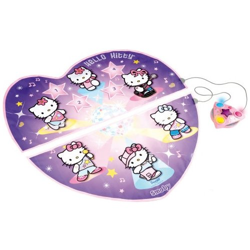SMOBY - TAPIS DE DANSE LUMINEUX HELLO KITTY - MUSIQUE