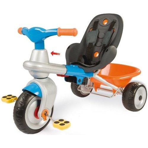 tricycle volutif 2 en 1 baby too cocooning smoby bleu. Black Bedroom Furniture Sets. Home Design Ideas