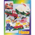 HAMA - 3301 - BO�TE A THEMES - PERLES MIDI - LOISIRS CREATIFS