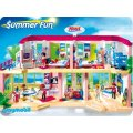 PLAYMOBIL HOTEL 5265 GRAND HOTEL COMPLETEMENT AMENAGE