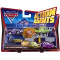 VEHICULES CARS 2 ACTION AGENTS - ACER ET HOLLEY SHIFTWELL - MATTEL - V4249