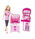 MATTEL - M4602 - BARBIE - POUPEE - CLINIQUE VETERINAIRE