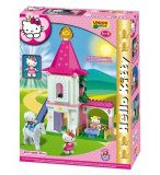 PETIT CHATEAU HELLO KITTY PRINCESSE - UNICO PLUS - 8677 - JEU DE CONSTRUCTION