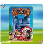PLAYMOBIL PIRATES 4776 ROCHER DES PIRATES TRANSPORTABLE