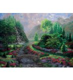 PUZZLE LA CASCADE 1000 PIECES - COLLECTION PAYSAGE - RAVENSBURGER - 154210