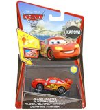 VEHICULE CARS 2 SONS ET LUMIERES FLASH - VOITURE MINIATURE - MATTEL - W1703