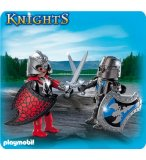 PLAYMOBIL CHEVALIERS 5240 DUO PACK DUEL DE CHEVALIERS
