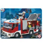 PLAYMOBIL POMPIERS 4821 FOURGON D'INTERVENTION DE POMPIERS