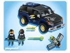 PLAYMOBIL TOP AGENTS 4878 4x4 DU ROBO GANG