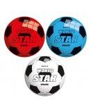 BALLON EN PLASTIQUE WORLD STAR CLASSIC 22 CM - JOHN SPORTS - JEU PLEIN AIR