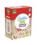 BATIBLOC CLASSIC 200 PLANCHETTES EN BOIS MASSIF - VILAC - 2134 - JEU CONSTRUCTION