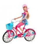 BICYCLETTE VELO GLAMOUR ET POUPEE BARBIE - MATTEL - Y7055