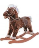 CHEVAL A BASCULE PELUCHE MARRON BRAUNY - KNORRTOYS - 40500