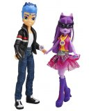 COFFRET 2 POUPEES : FLASH SENTRY + TWILIGHT SPARKLE - FRIENDSHIP GAMES - MY LITTLE PONY EQUESTRIA GIRLS - HASBRO - B1780