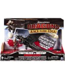 DRAGONS TOOTHLESS & HICCUP AVEC SON - DRAGON ET SON DRESSEUR - DRAGONS DREAM WORKS - SPIN MASTER - 20073818