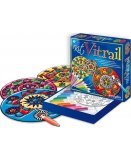 KIT VITRAIL MANDALAS - WINDOW COLOR - SENTOSPHERE - 259