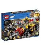LEGO CITY 60186 LA FOREUSE DU MINERAI