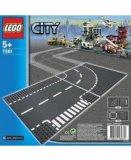 LEGO CITY 7281 PLAQUES DE ROUTE - INTERSECTION ET VIRAGE