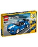 LEGO CREATOR 31070 LE BOLIDE BLEU